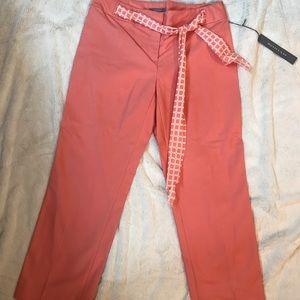 Ann Taylor Narrow leg Belted  Pant